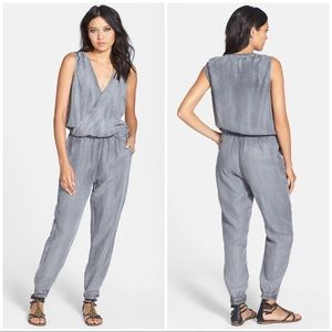 NWT Velvet Heart Athena Jumpsuit Washed Gray